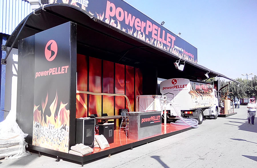 The participation of powerPELLET at the Thessaloniki International Fair