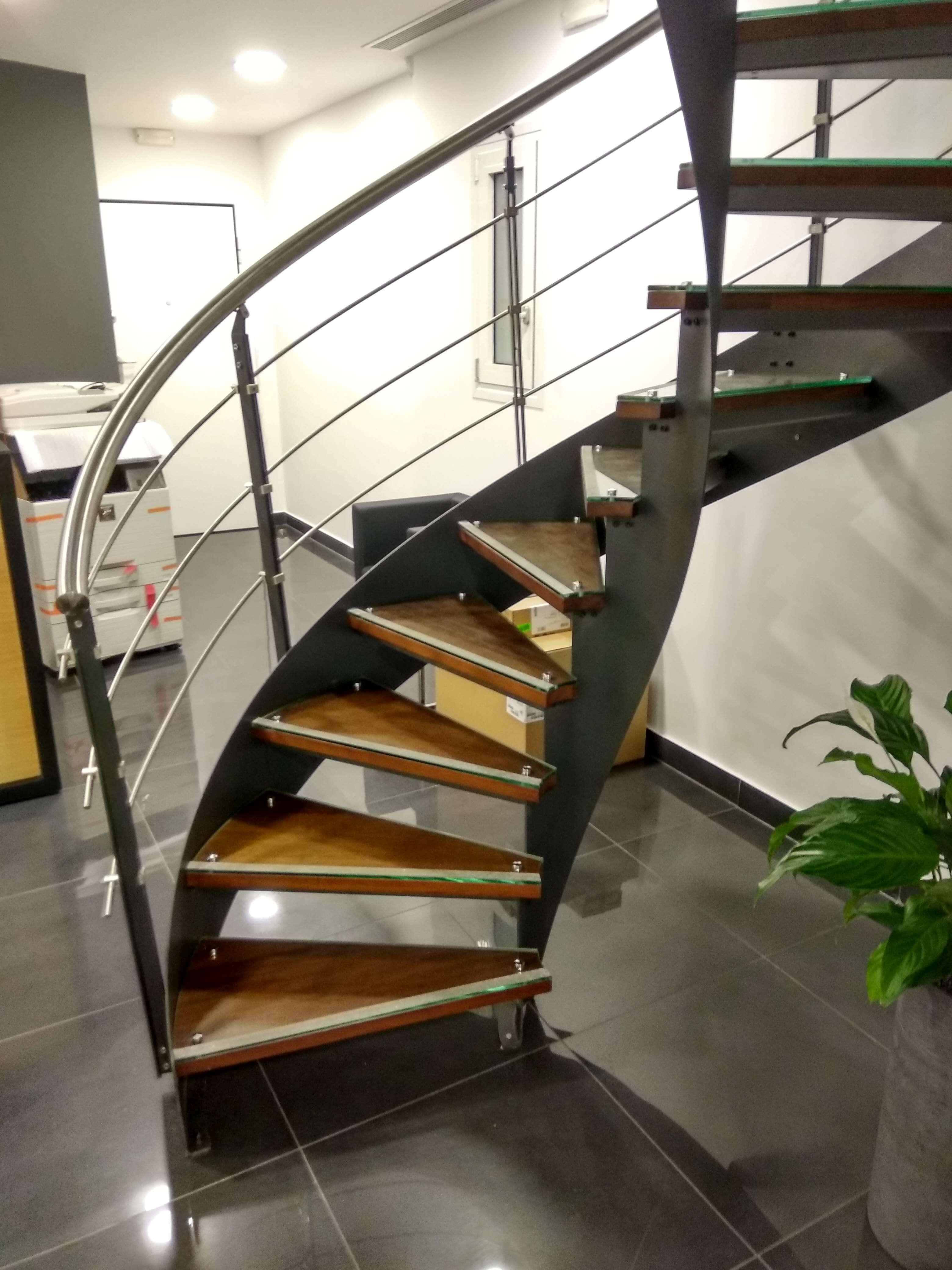 STAIR IN A WELL-KNOWN LAW FIRM