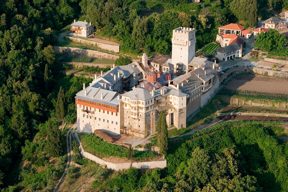 The Monastery of Great Lavra, Mount Athos -