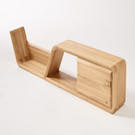 #001 OAK SHELF
