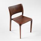 #001 BEECH CURVE CHAIR