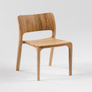 #001 OAK CURVE CHAIR